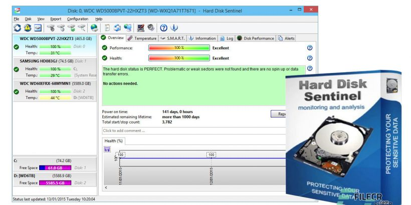 Hard Disk Sentinel Crack Free Download