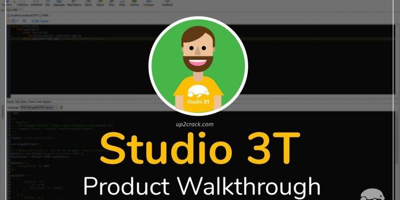 Studio 3T 2020.3.1 Crack + License Key Download (2020)