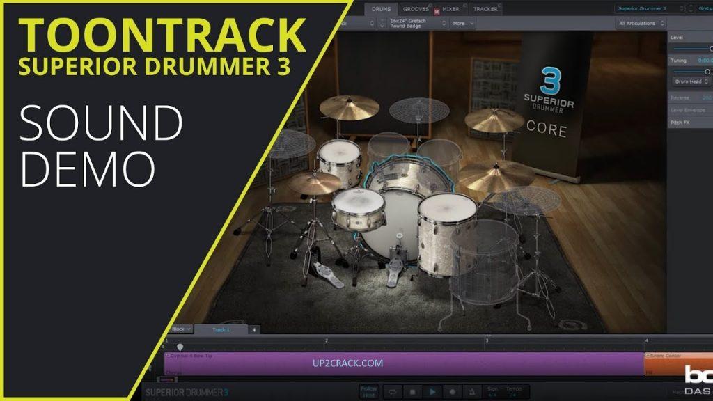 Superior Drummer 3.1.7 Crack + Torrent (Mac) Free Download