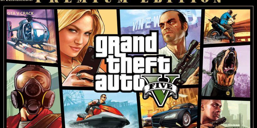 GTA V v5 Crack With License Key For PC Download