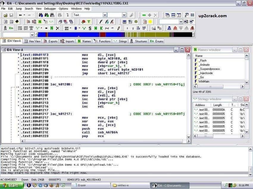 IDA Pro 7.6.210427 Crack + Torrent Free Download (2021)